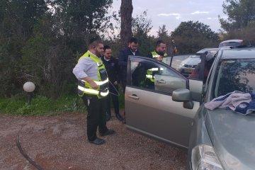 בר גיורא: כונני ידידים חילצו פעוטה שננעלה ברכב ביישוב