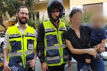 """תל אביב: פעוט שננעל ברכב בשגגה חולץ במהירות ע""""י כונני ידידים"""