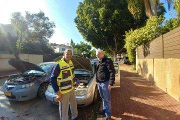 לקה באירוע מוחי ותוך יומיים חזר לפעילות התנדבותית בכבישי העיר פתח תקווה