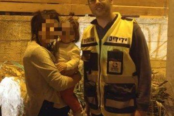 נופך: כונני ידידים חילצו ילדה שננעלה ברכב