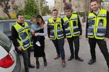 ירושלים:ילד שננעל ברכב חולץ במהירות על ידי צוות מידידים