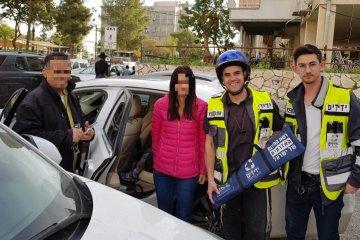 כונני ידידים חילצו ילד מרכב נעול בבני ברק