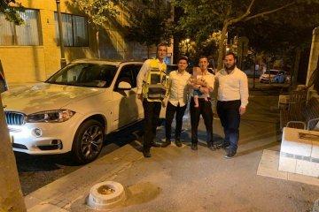 """ירושלים: ילד חולץ בשלום ע""""י כונני ידידים לאחר שנעל בשגגה ברכב"""