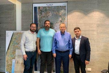 פגישת הנהלת הארגון עם עירית תל אביב