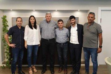 פגישת מנהלי הארגון עם ראש עיריית חדרה