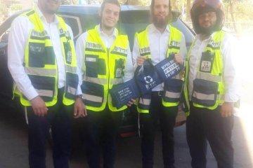 ירושלים: תינוק שננעל בשגגה ברכב חולץ בשלום על ידי כונני ידידים