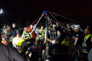 מתנדבי ידידים סייעו בחילוץ גופה מבאר מים עמוקה