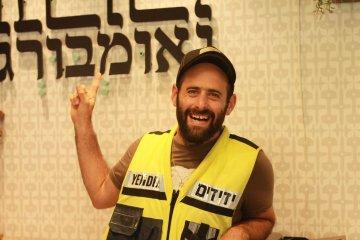 הכר את המתנדב – הכירו את יהודה נאומבורג