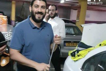 אלעד: כונני ידידים חילצו בשלום ילדה שננעלה בשגגה ברכב