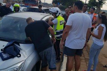 נתניה: ילד שננעל בשגגה ברכב חולץ בשלום על ידי כונני ידידים