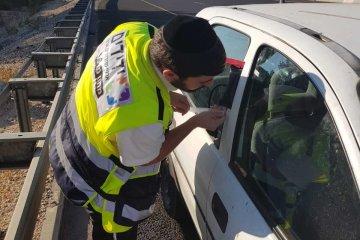 ילד שננעל ברכב בשגגה לעיני אביו בירושלים חולץ בשלום על ידי כונן ידידים