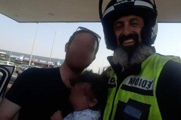 ילד שננעל ברכב בשגגה לעיני הוריו בתחנת דלק מגל בכביש 6 חולץ בשלום על ידי כונני ידידים