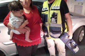 ילדה כבת שנתיים שננעלה ברכב בשגגה לעיני אמה וסבתה בירושלים חולצה בשלום על ידי כונני ידידים