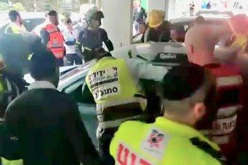 """סמנכ""""ל הארגון, מנהל מוקד צפון וכוננים נוספים חילצו בבני ברק פעוט שננעל בשגגה ברכב"""