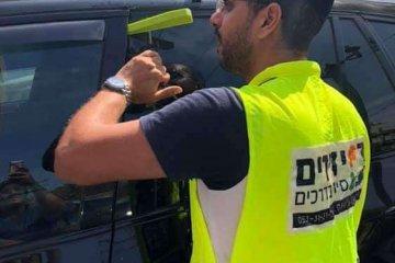 רמת גן: פעוטה כבת שנתיים שננעלה ברכב לעיני אמה חולצה בשלום על ידי כונן ידידים