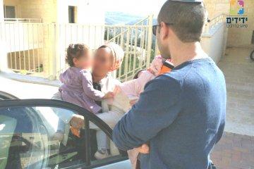 ילד שננעל בשגגה ברכב לעיני בני משפחתו ביישוב עלי במועצה האזורית מטה בנימין חולץ בשלום על ידי כונני ידידים
