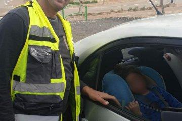 ילדה שננעלה בשגגה ברכב לעיני בני משפחתה ביישוב נחושה שבמועצה אזורית מטה יהודה חולצה בשלום על ידי כונני ידידים