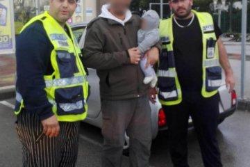 מתנדבי ידידים חילצו תינוק קטן שננעל בטעות ברכב בדרום נתיבות