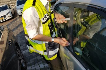 הילדה ננעלה ברכב, המתנדב נחלץ לעזרה ותוך כדי פעולת החילוץ נמצא המפתח הרזרבי של הרכב