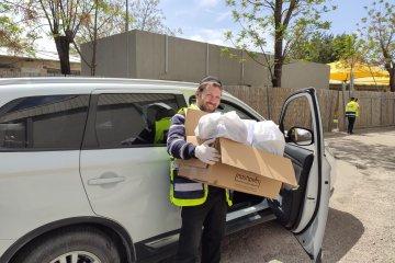 בית שמש: כונני ידידים חילקו 400 חבילות מזון לקשישים ואוכלוסיות מוחלשות בעיר • החבילות סופקו על ידי העירייה