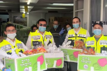 אופקים: כונני ידידים חילקו 200 חבילות מזון לקשישים ואוכלוסיות מוחלשות בעיר • החבילות סופקו על ידי העירייה