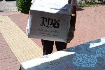 קרית מלאכי: כונני ידידים חילקו 500 חבילות מזון לקשישים ואוכלוסיות מוחלשות בעיר • החבילות סופקו על ידי העירייה