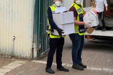 קריית גת: קמחא דפסחא בצל הקורונה • כונני ידידים חילקו 1500 מנות מבושלות • המנות סופקו על ידי העירייה