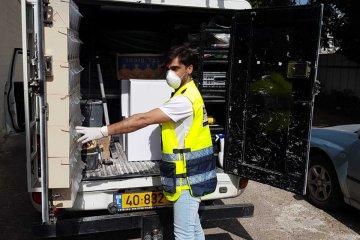 אשקלון: קמחא דפסחא בצל הקורונה • כמידי יום, כונני ידידים חילקו עוד מאות סלי מזון • הסלים סופקו על ידי העירייה