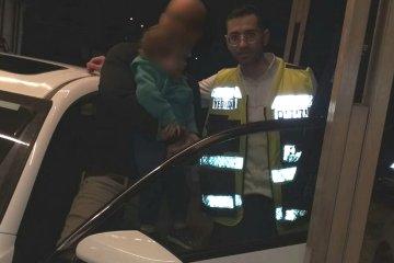ילד ננעל בשכונת נווה יעקב בירושלים וחולץ בתוך דקות על ידי כונן ידידים