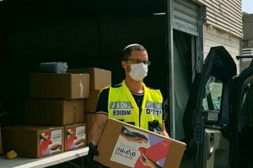 אשקלון: ערנותו של מתנדב שחילק מזון הצילה קשישה באפיסת כוחות