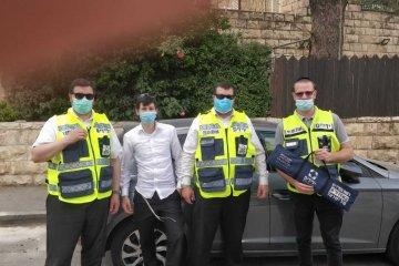 """ירושלים: ילד ננעל בשגגה ברכב בשכונת רמת אשכול וחולץ ע""""י כונן ידידים בתוך מספר דקות"""