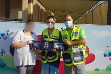 הילד ננעל לעיני משפחתו מתנדבי ידידים חילצו
