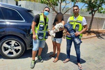 שפיר: כלב ננעל ברכב לעיני בעליו • כונני ידידים חילצו אותו בשלום