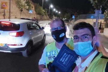 הר חומה: באמצע הלילה מתנדבי ידידים חילצו פעוט שנרדם ברכב וננעל