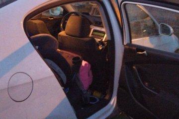 קרני שומרון: כונני ידידים חילצו בשלום ילדה קטנה שננעלה בשגגה ברכב