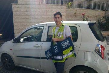 ירושלים: ילד ננעל ברכב לעיני אביו. כונני ידידים פעלו במהירות וחילצו אותו בשלום