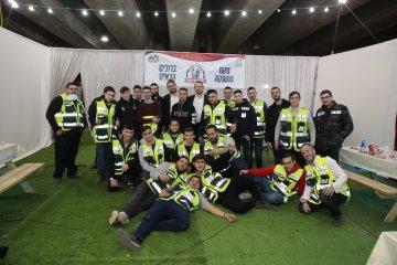 """עכשיו זה רשמי: ארגון ידידים ערך אירוע השקה מרגש ליס""""מ – יחידת הנוער בבני ברק"""