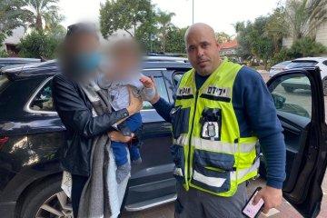 יהוד: כונני ידידים חילצו תינוק מרכב