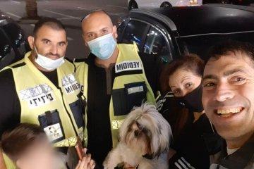 צומת קסטינה: כלב ננעל ברכב לבדו, כונני ידידים הוזעקו לחלצו • הכלב חולץ במהירות ובשלום