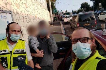 חיפה: פעוט בן שנתיים, חולץ מרכב נעול.