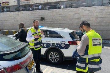 הר-חוצבים: שני ילדים הושארו ברכב נעול וחולצו בשלום על ידי מתנדבי ידידים