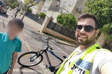 בית שמש: רגלו של ילד נלכדה בגלגל אופניים • כונני ידידים חילצו אותה ושחררו את הילד בשלום