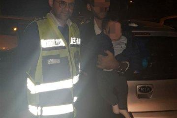 """ירושלים: ילד שננעל ברכב בשכונת קרית יובל חולץ ע""""י מתנדב ידידים"""