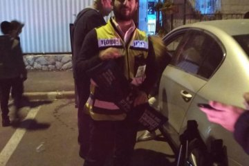 ירושלים: כונן ידידים מיכי שעיו חילץ בשלום ילד שננעל ברכב