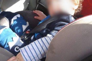 כונן ידידים חילץ ילד שננעל ברכב