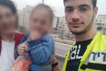 ירושלים: כונני ידידים חילצו בשלום ילד מרכב נעול בשכונת רמת־שלמה