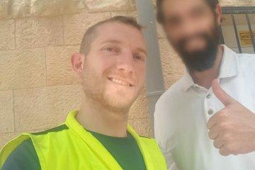 ירושלים: כונן ידידים חילץ בשלום פעוט מרכב נעול בשכונת רחביה