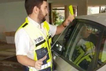 ילד ננעל ברכב במרכז העיר וחולץ בתוך דקות ספורות על ידי מתנדבי ידידים