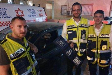 ירושלים: כונני ידידים חילצו בשלום ילד מרכב נעול