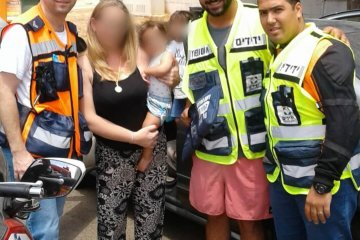 פרדס חנה: כונני ידידים חילצו בשלום ילד נעול ברכב